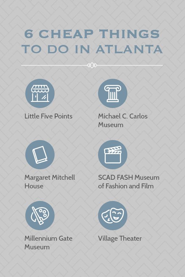 6 Cheap Things To Do In Atlanta