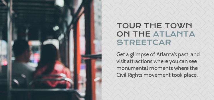 Tour The Town on the Atlanta Streetcar