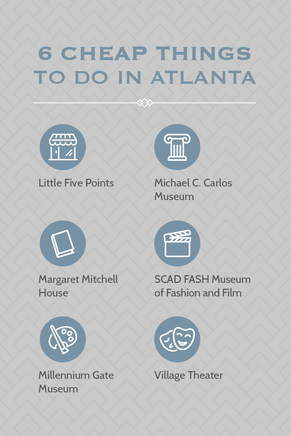 6 Cheap Things To Do In Atlanta