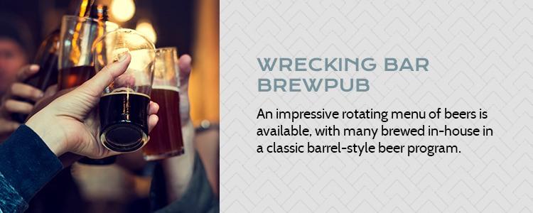 wrecking bar brewpub